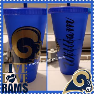 Rams color changing Starbucks cup for Sale in Los Angeles, CA