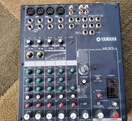 Yamaha MG 82cx Mixer . with Digital Effects for Sale in Quincy,  MA