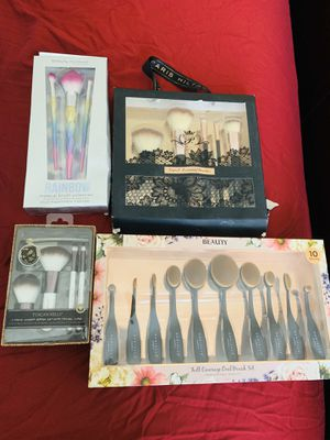 Makeup brushes lot for Sale in undefined