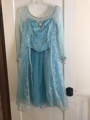 Authentic Disney Park Elsa Dress XL 14/16 for Sale in Kirkland, WA