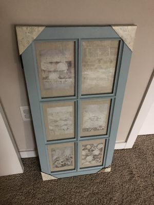 French county window with 6 opening photo frame for Sale in Alexandria, VA