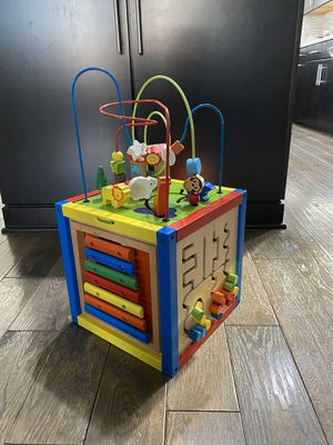 Kids activity play cube for Sale in VA, US