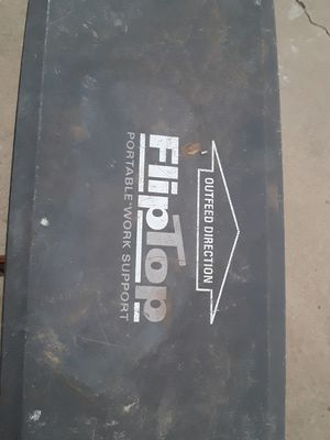 Flip top work support tables for Sale in Lubbock, TX