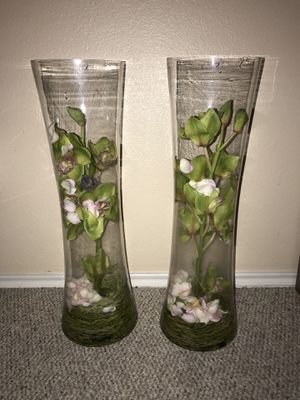 Flower vases for Sale in San Antonio, TX