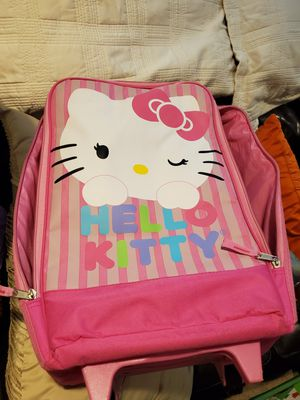 Hello kitty rolling suitcase for Sale in Winston-Salem, NC