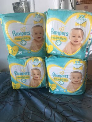 Pamper swaddlers for Sale in The Bronx, NY