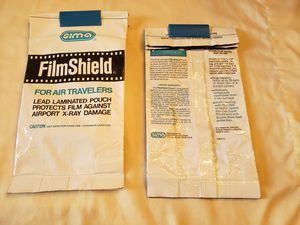 Sima FilmShield Lead protective bags. 6x12 (2) for Sale in Canonsburg, PA