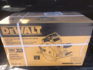 DeWalt Circular Saw for Sale in Silver Spring, MD