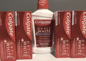 Colgate optic white bundle for Sale in Rocky Hill, CT