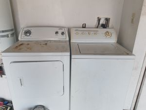 Washer and dryer for Sale in Bakersfield, CA