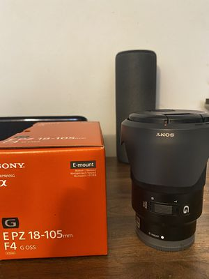Sony G lens 18-105 mm for Sale in Miami, FL