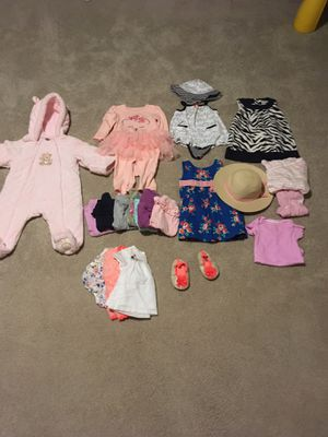 Baby Girl clothes, 6-9 months for Sale in Great Falls, VA