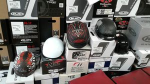 Motorcycle half helmets $40 clearance for Sale in Los Angeles, CA