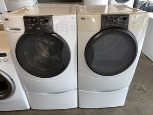 XL CAPACITY KENMORE ELITE WASHER DRYER 100 DAYS WARRANTY for Sale in Vancouver, WA