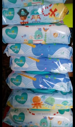 Pampers wipes 72ct 1.90$ each for Sale in Chicago, IL