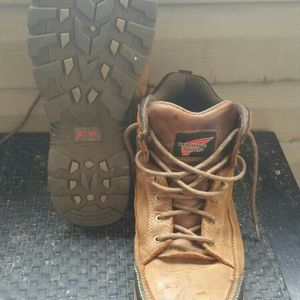 Red Wing Steel Toe Work Boots Size 11.5 for Sale in Woodstock, GA