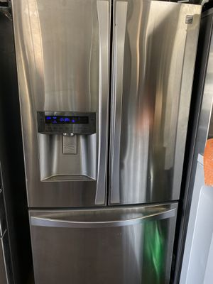 Kenmore stainless steel counter depth French style for Sale in Costa Mesa, CA