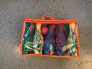 Toddler Bowling Set - both balls & all pins included! for Sale in Santa Monica, CA