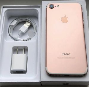 ⌚️📱⌚️iPhone 7 32GB factory unlocked with warranty for Sale in Tampa, FL
