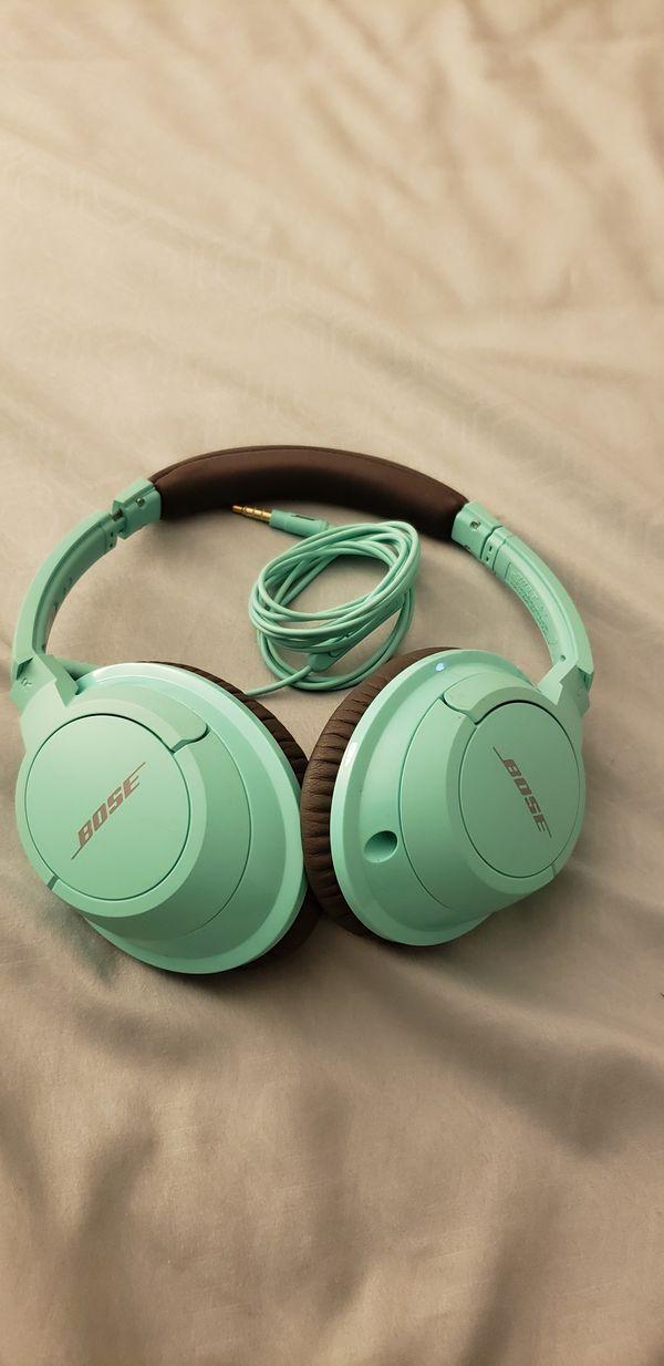Bose head phones
