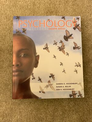 Psychology 7th Edition Textbook for Sale in Columbia, MD