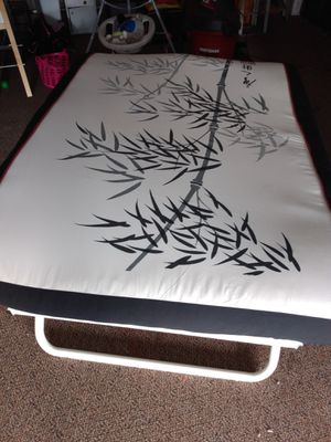 """Futon mattress very clean..76"""" by 60"""" queen size for Sale in Kent, WA"""