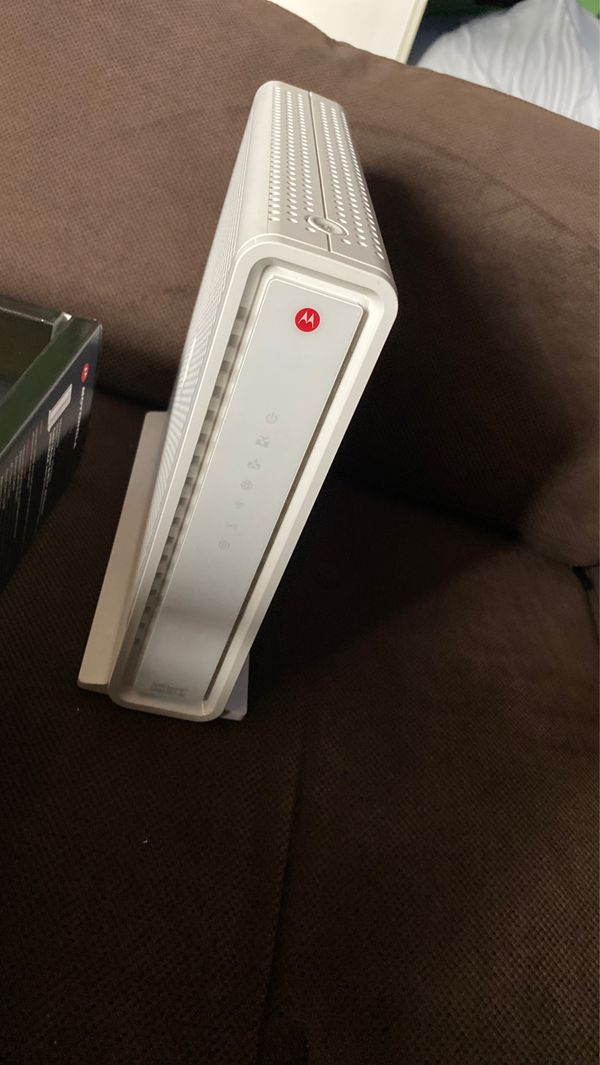 Motorola WiFi router and modem