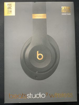 Beats Studio 3 Wireless (midnight black) for Sale in Riverside, CA