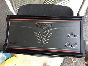 Kicker ZX700.5 R ZX Amplifier Car Stereo 700 Watt Multi-Channel Amp 5 chanel for Sale in Lynnwood, WA