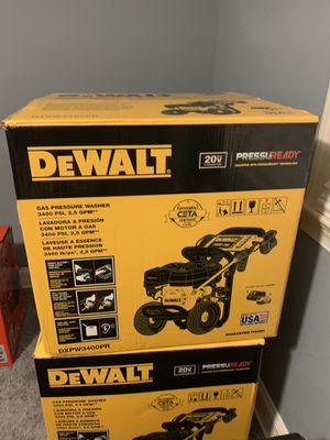 DeWALT PRESSURE WASHER 3400 psi for Sale in FAIRMOUNT HGT, MD