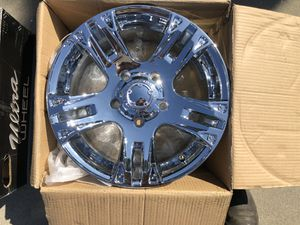 5x5.5 wheels Jeep or dodge fits other cars also for Sale in North Highlands, CA