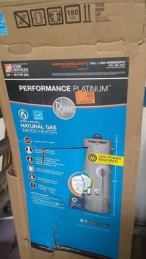 Rheem water heater stainless steel refrigerator for Sale in Buena Park, CA