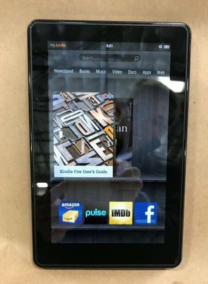 """Amazon Kindle Fire 1st Generation D01400 8GB 7 """"WI-FI - Black for Sale in Orlando, FL"""