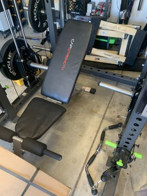 Adjustable weight bench Capstrength $50 for Sale in Gahanna, OH