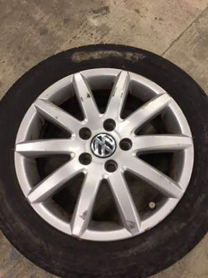 "One 16"" Vw wheel for Sale in Suffolk, VA"