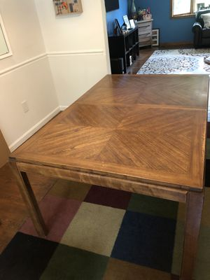 Solid wood dining room table for Sale in Fairfax, VA