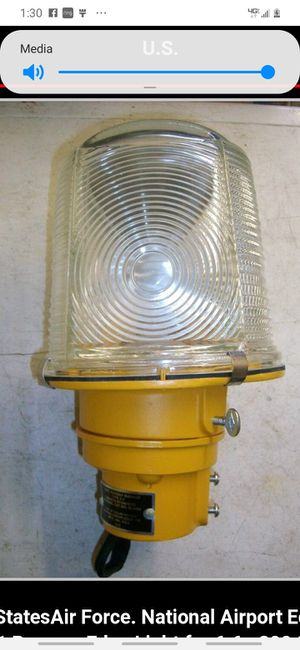 1950s pair Airport runway lights antique excellent for Sale in Fresno, CA