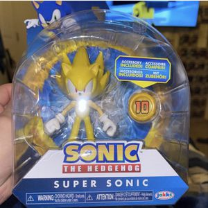"Jakks Pacific Sonic the Hedgehog 4"" Super Sonic Action Figure for Sale in Goodyear, AZ"