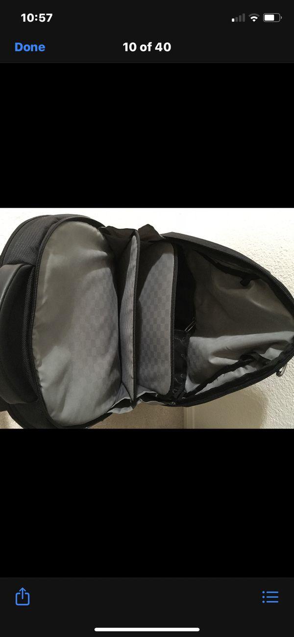 Samsonite black laser laptop tote back backpack