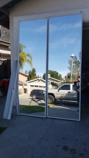 Free Mirrored Closet Doors for Sale in Mission Viejo, CA