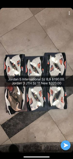 Jordan 3 Jordan 5 All New All Authentic for Sale in Miami, FL
