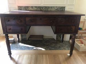 Antique Wooden Desk for Sale in Glendale, CA