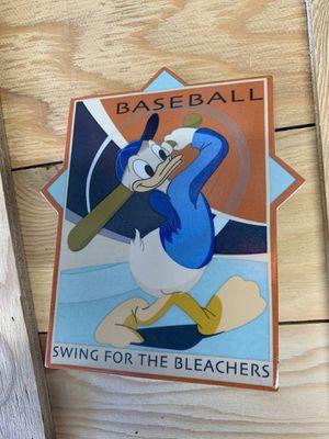 Donald Duck Baseball for Sale in Huntington Beach, CA