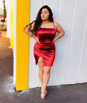 Satin mini dress $30 for Sale in Federal Way, WA
