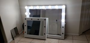 Vanity makeup mirrors. Prices start at $140 for Sale in Banning, CA