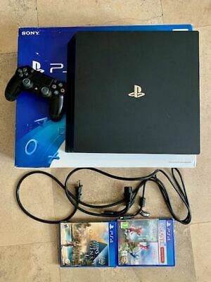Sony Playstation 4 Pro 1TB Game Console - Jet Black for Sale in Bell Gardens, CA