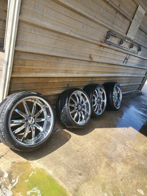 "Mercedes 21"" Staggered wheels 5x112 for Sale in Dallas, TX"