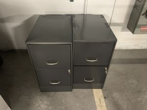 2 filing cabinet for Sale in Lombard, IL