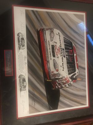 Kevin Harvick poster signed by Garry Hill for Sale in Dearborn Heights, MI
