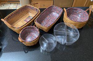 Longaberger Baskets for Sale in Auburn, WA